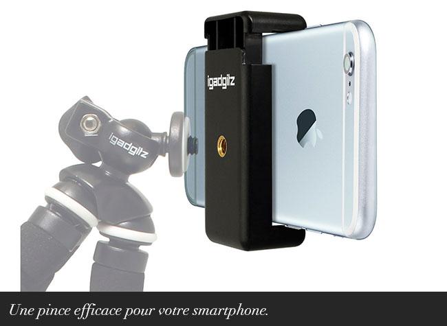 Une pince efficace pour votre smartphone.