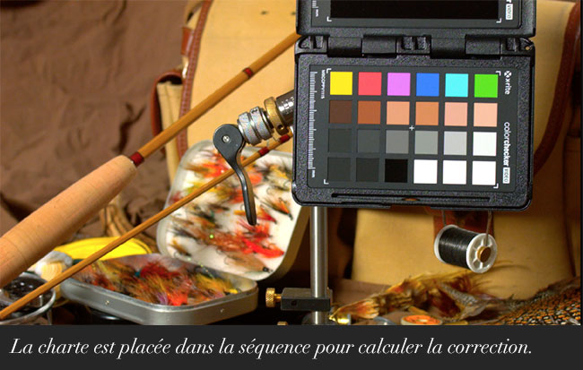 Les ColorChecker Video dans DaVinci Resolve 12.5