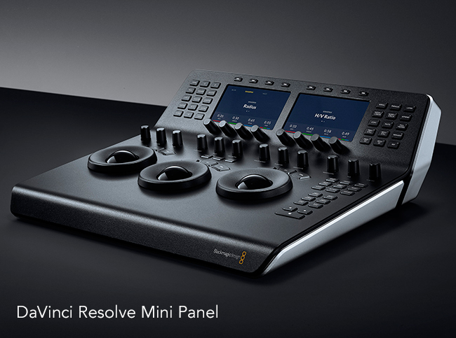 DaVinci Resolve Mini Panel.