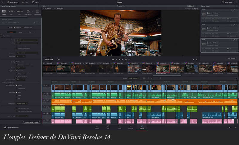 Le nouveau DaVinci Resolve 14