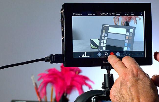 Créer une Lut d'affichage pour votre Video Assist