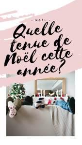 TENUE DE NOEL 2019