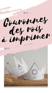 COURONNES DES ROIS A IMPRIMER