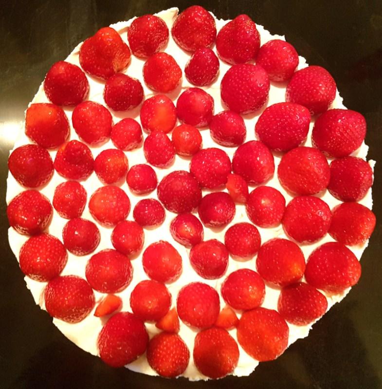 Tarte aux fraises facile et gourmande