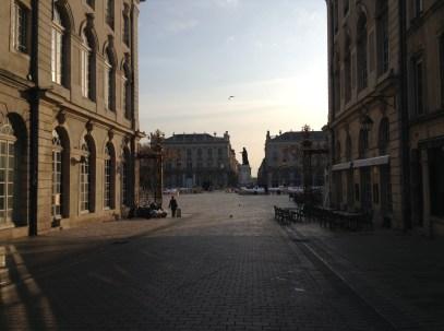 Place Stan à Nancy