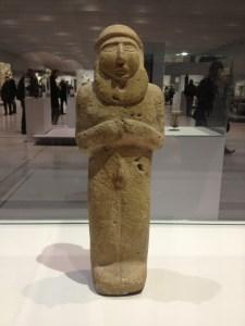 2 Mésopotamie (Iraq) Homme barbu nu-3000 av JC