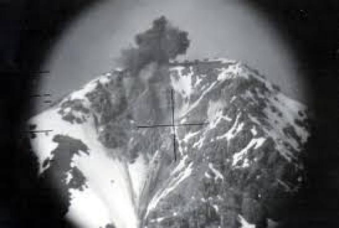 Bombardement Chaberton