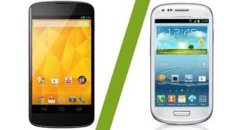 Nexus 4 Samsung_Galaxy S3 Mini
