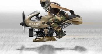 moto volante Flug