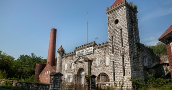 distillerie abandonnée Old Taylor