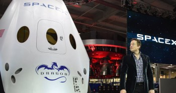 capsules Dragon de SpaceX