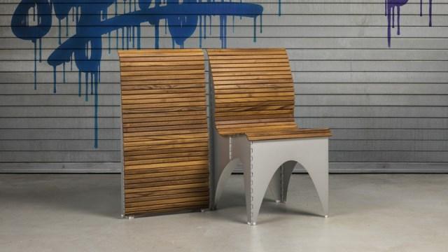Ollie chaise pliante design