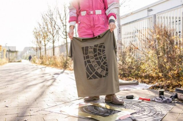 Guerrilla Apparel vetements street art Raubdruckerin