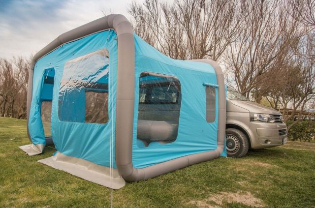 Gentlet dévoile des tentes gonflables