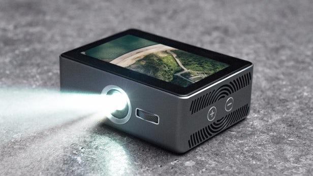 Sweam – Un projecteur intelligent de poche avec écran tactile
