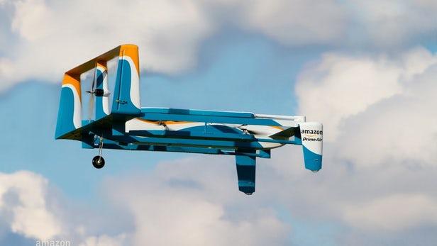 drones de livraison d'Amazon