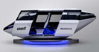 Bell Helicopter - Le taxi volant atterrit au CES
