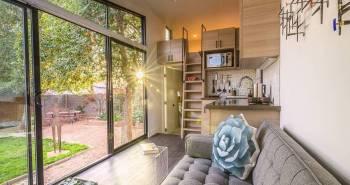 The Nest – Une petite maison moderne et mobile à louer