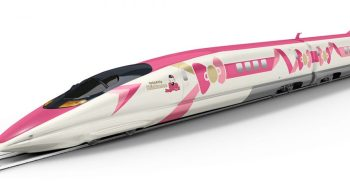 train Hello Kitty arrive au Japon cet été