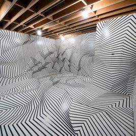 Darel Carey dévoile sa nouvelle installation artistique