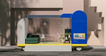 Spaces on Wheels - Space10 d'Ikea ​​imagine l'avenir des voitures autonomes