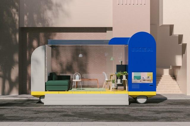 Spaces on Wheels - Space10 d'Ikea imagine l'avenir des voitures autonomes