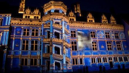 SONS E LUZES DO CASTELO DE BLOIS