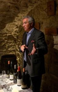 De_Vinis_Illustribus-Lionel_Michelin_commenting_a_wine_tasting