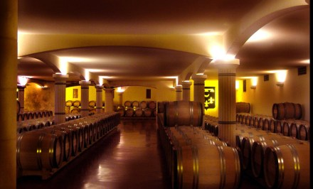 Adegas de vinho branco de Smith Haut Laffite