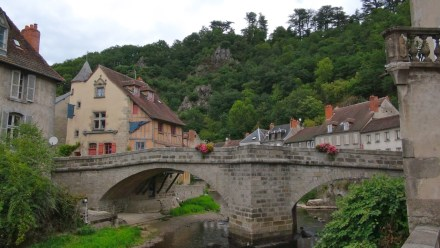A ponte no Rio Creuse