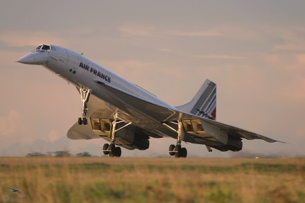 Concorde da Air France, lindo e ainda pioneiro