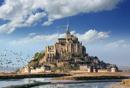 O Mont Saint Michel, o monumento mais visitado da França fora de Paris