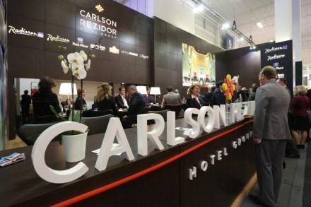 Estande da Carlson Rezidor no ITB de Berlim