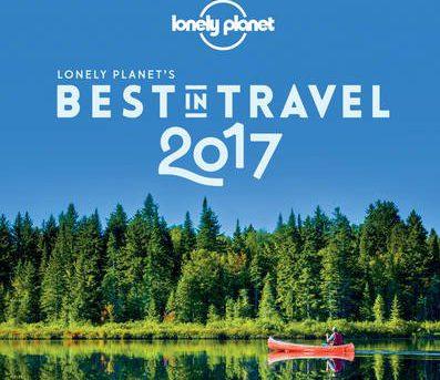 O Best of Travel 2017, destacando Canada, e Bordeaux