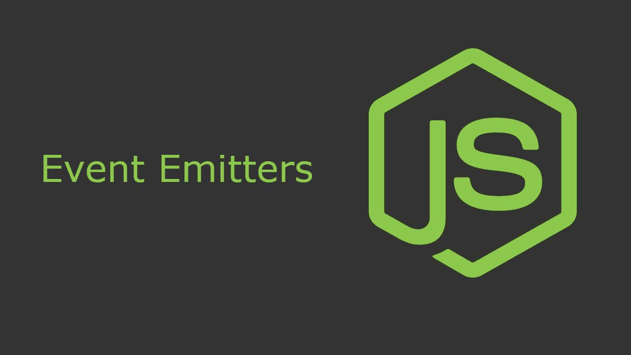 comment utiliser les  u00e9v u00e9nements avec node js