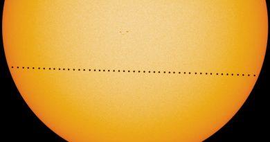 Le transit planétaire de Mercure - Le blog du hérisson