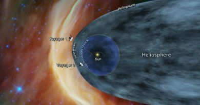 Voyager 2 : la sonde américaine continue son voyage spatial - Le blog du hérisson