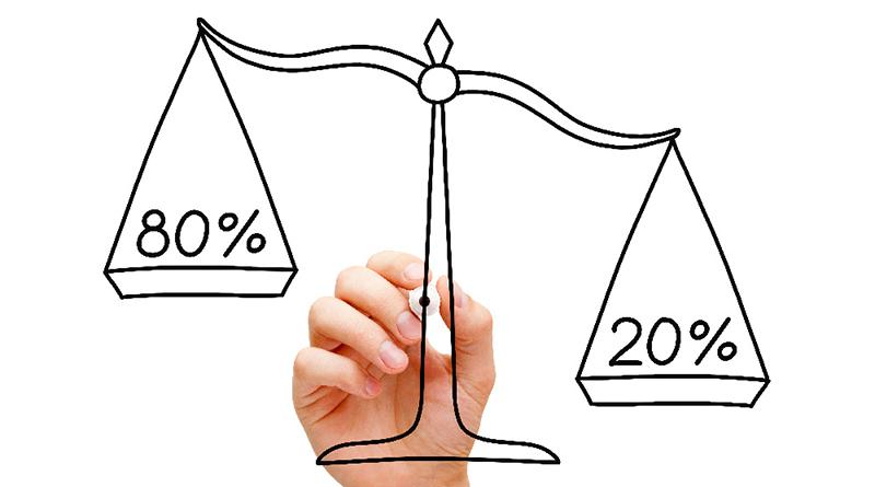 La loi de Pareto ou la règle du 80/20 - Le blog du hérisson