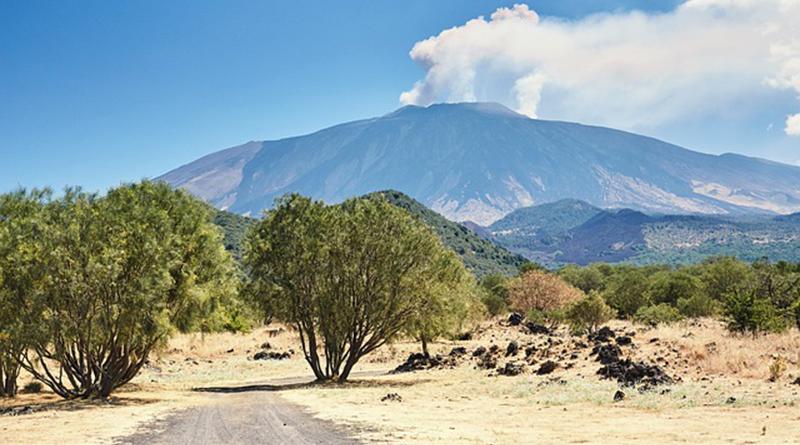 Le volcan Etna - Le blog du hérisson