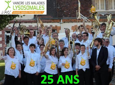 harmonie arrou pour #25ansvml