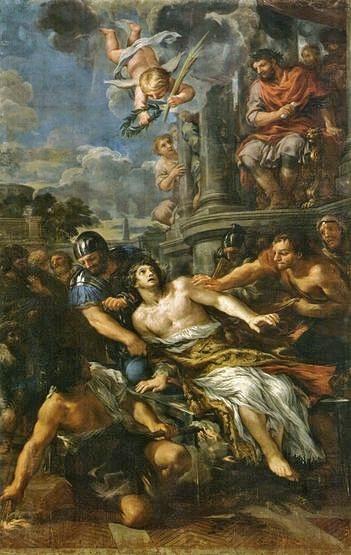 Le martyre de Saint Laurent, Pierre de Cortone - 1626