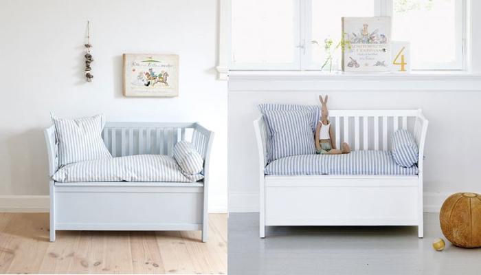 Banc coffre à jouets & coussins Oliver Furniture