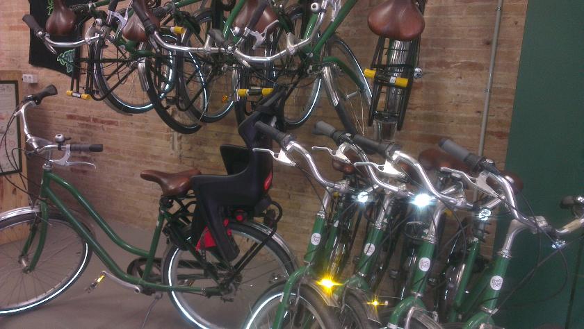 Green Bikes, location de vélo à Barcelone