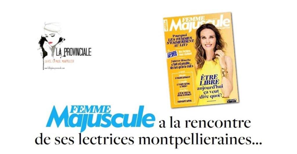 Femme Majuscule à Montpellier