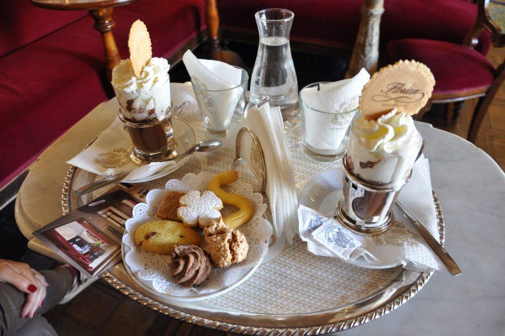 chocolat chaud à Venise le café Florian