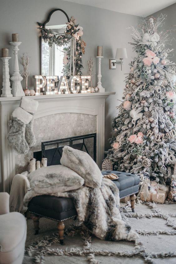 Inspiration pour décoration de Noël