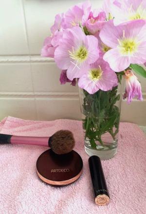 Maquillage-poudre de soleil