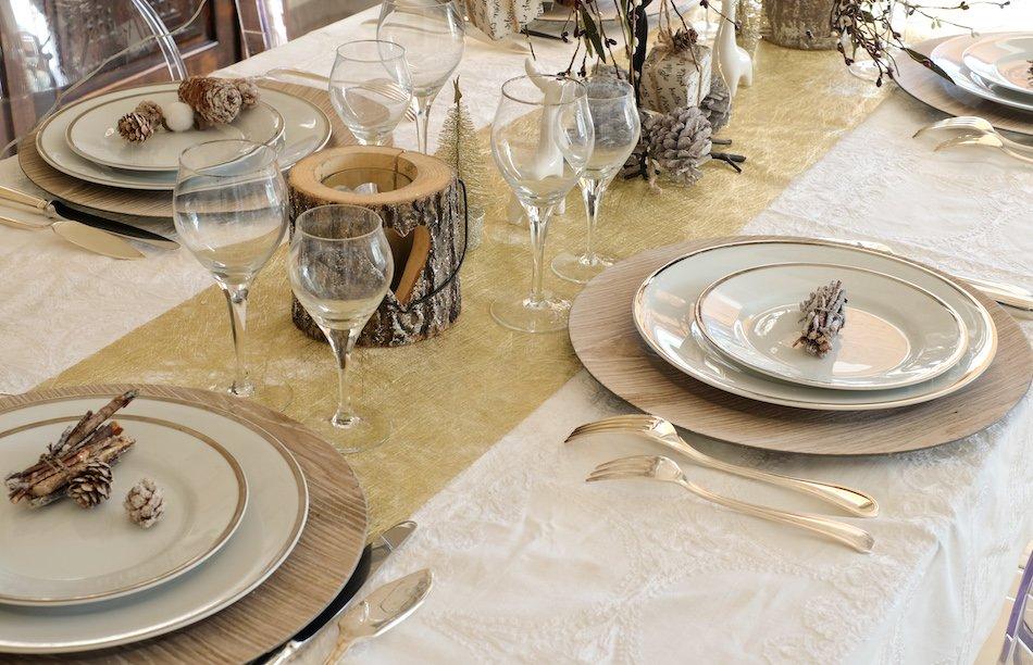 Comment créer une jolie table en recyclant des objets du quotidien
