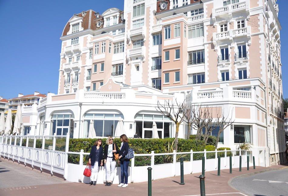 Mon escapade au Pays Basque et la visite du Grand Hôtel