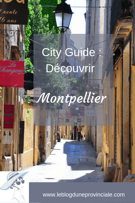 City guide Montpellier